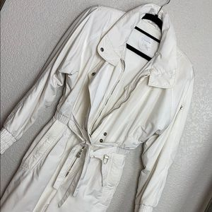 Vintage 80's White Bogner Snow Suit 4